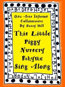 This Little Piggy Nursery Rhyme Sing Along mp4 File