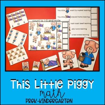 This Little Piggy Unit for Preschool, Pre-K, Kindergarten, and Homeschool