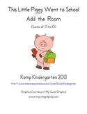This Little Piggy Went to School Add the Room (Sums of 0-10)