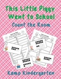 This Little Piggy Went to School Count the Room (Quantities to 20)