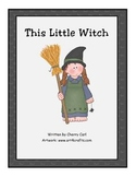 This Little Witch Big Book for Halloween