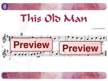 This Old Man Flute And Oboe MP3 And PDF Unit 8.