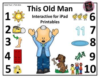 This Old Man - Interactive E-Book & Printable