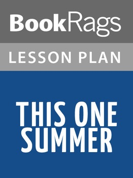 This One Summer Lesson Plans