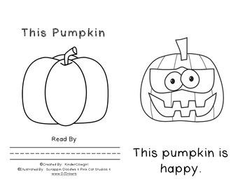 This Pumpkin Opposite's Book