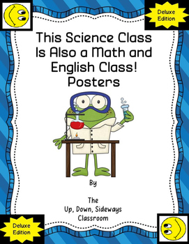 This Science Class is Also a Math/English Class-Posters-De