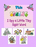 This SPRING, I Spy Little Tiny SIGHT WORDS!