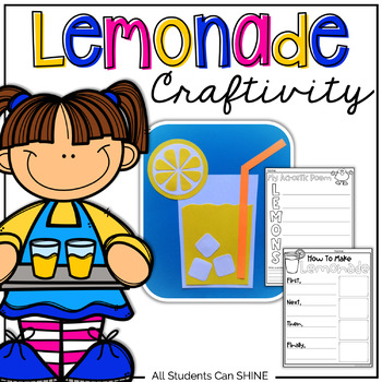 Lemonade Craftivity