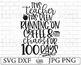 100 Days Of School SVG File