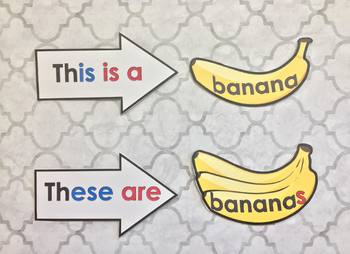 This/That/These/Those ARROWS and BANANAS
