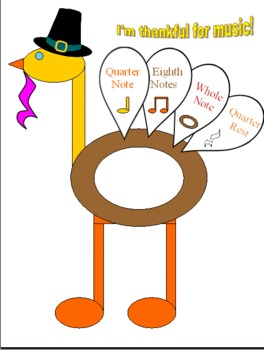 This Turkey Has Rhythm! A Craftivity
