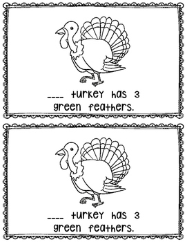This Turkey~ emergent reader