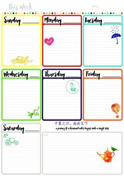 This Week Planner