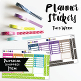 This Week To Do List Planner Stickers - Solid Brights {HARD GOOD}
