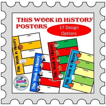 This Week in History Posters