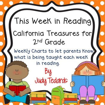 This Week in Reading for California Treasures (2nd Grade)