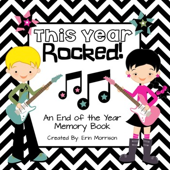 This Year ROCKED! {An End of the Year Memory Book}