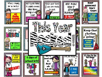 End of the Year Countdown Bulletin Board:  This Year Rocked!