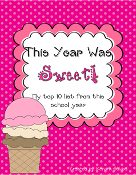 This Year Was Sweet {End of the Year Top 10 List}