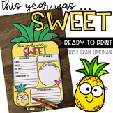 End of Year Pineapple Craft   End of the year activities