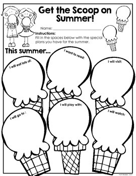 This Year Was a Real Treat! End of Year/Here Comes Summer Booklet