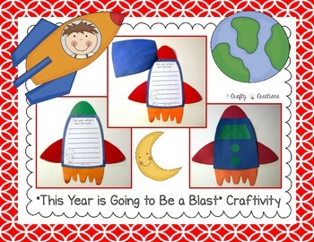 This Year is Going to Be a Blast Craftivity (Back to School)