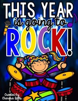 This Year is Going to ROCK! A Beginning of the Year Mini-Unit!