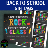 This Year is Going to Rock With You-Back to School Tags