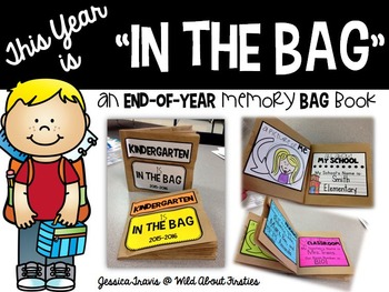 """This Year is """"In The Bag!"""" {A Fun Memory BAG Book!}"""
