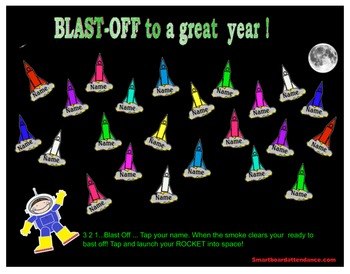 This Year was a BLAST!  or Blast -off to a Great Year ! Attendance