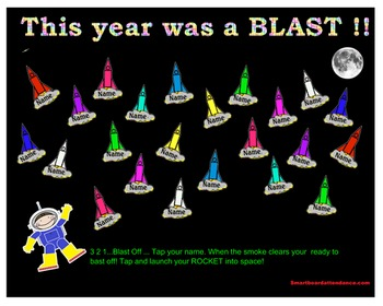 This Year was a BLAST!  or Blast -off to a Great Year ! At