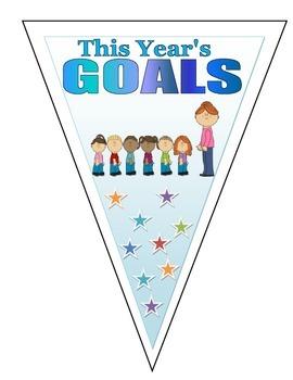 This Year's Goal!  Goal Setting Actvitiy