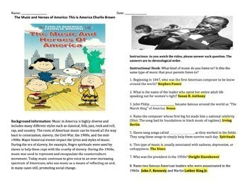 This is American Charlie Brown: The Music and Heroes of America