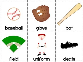 This is Baseball - Adapted Book and Comprehension Materials