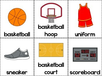 This is Basketball - Adapted Book and Comprehension Materials