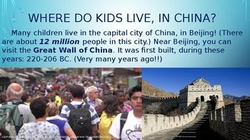 1st-3rd grade China powerpoint/presentation