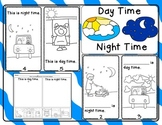 Day Time  Night Time / Emergent Reader and Response Activities
