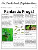 Google Doc- Editable Nonfiction Newspaper Template & Example
