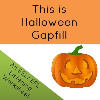 This is Halloween Song Gapfill