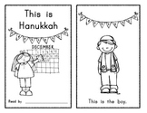 This is Hanukkah (sight word) Emergent Reader / Holidays Around the World