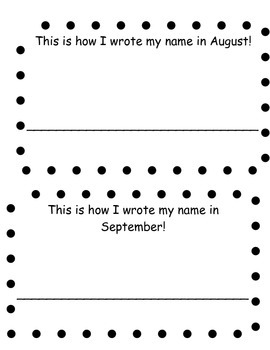 This is How I Wrote My Name!