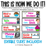 """This is How We Do It: Posters & Procedures for Those """"Other"""" Class Encounters"""
