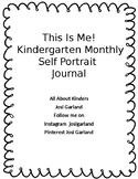 Kindergarten Monthly self portrait