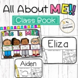 This is Me Class Book   All About Me Back to School Litera
