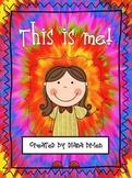 This is Me - Work Booklet Freebie!