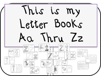 This is My Letter Books Aa Thru Zz BUNDLE
