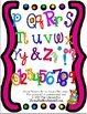This is NoT a Font- Cute and Bright Multicolored Alphabet