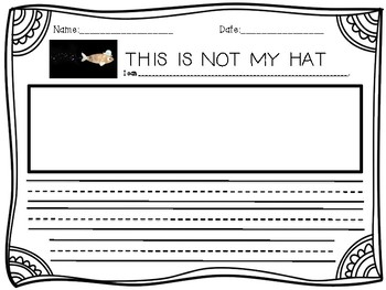 This is Not My Hat FREEBIE