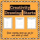 Creativity Drawing Starts | GATE