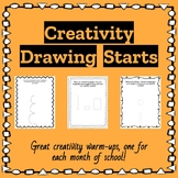 Creativity Drawing Starts | GATE